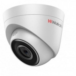 DS-I253 IP HiWatch Видеокамера купольная. 2Мп внутренняя купольная IP камера