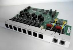 Panasonic КX-TE82480 8-портовая плата гибридных внутренних линий с 2-мя портами аналоговых внешних (CO) линий Б/У