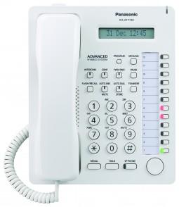 KX-AT 7730 UE - аналоговый системный телефон Panasonic ,для мини атс ТЕВ,ТЕС,ТЕМ